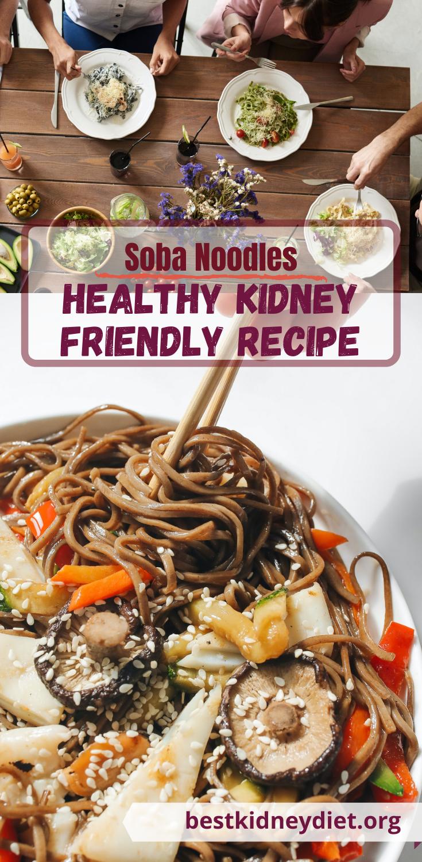 Soba Noodles and Garden Vegetables